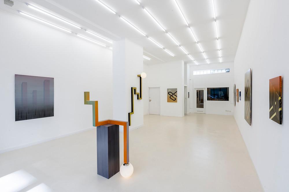 Schierke Seinecke, Ausstellungsansicht mit Arbeiten von Robert Vellekoop