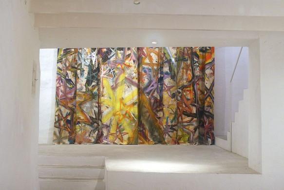 Installation by Bernhard Adams