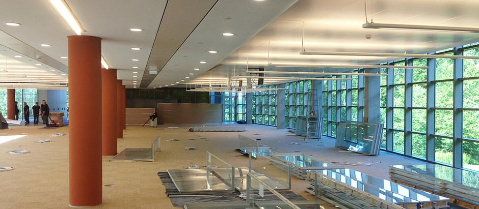 Investmentbank Kronberg / Taunus  Systemtrennwände · Trennwandsystem