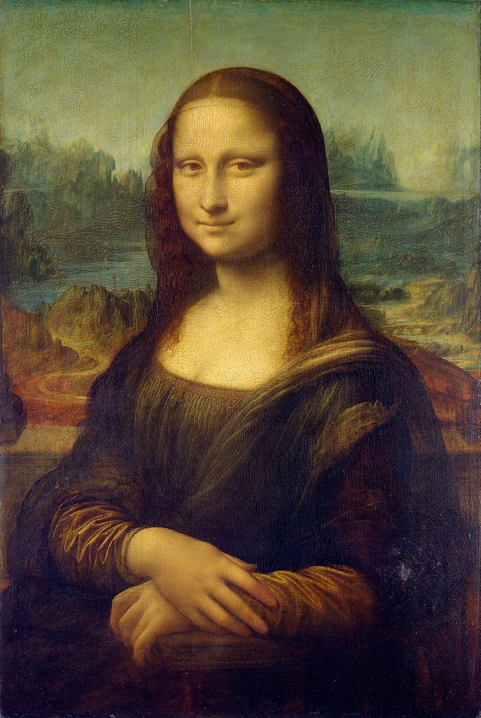 "Leonarda da Vinci's (1452–1519), ""Mona Lisa"", is a portrait painting of Lisa Gherardini, that became one of the best known paintings in the world. It is on display at the Louvre Museum Paris since 1797."