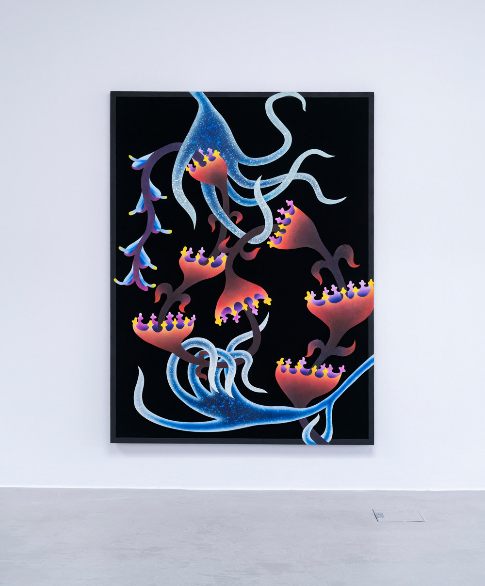 RPR ART, Mevlana Lipp, Calypso, 2020, 200x50cm, Ruttkowski Gallery