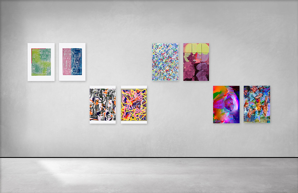 Lockdown Editions presented at Artspace NEXUS