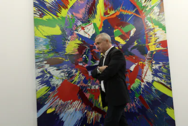 Damien Hirst presents in PinchukArtCentre, Kyiv by Sodel Vladyslav