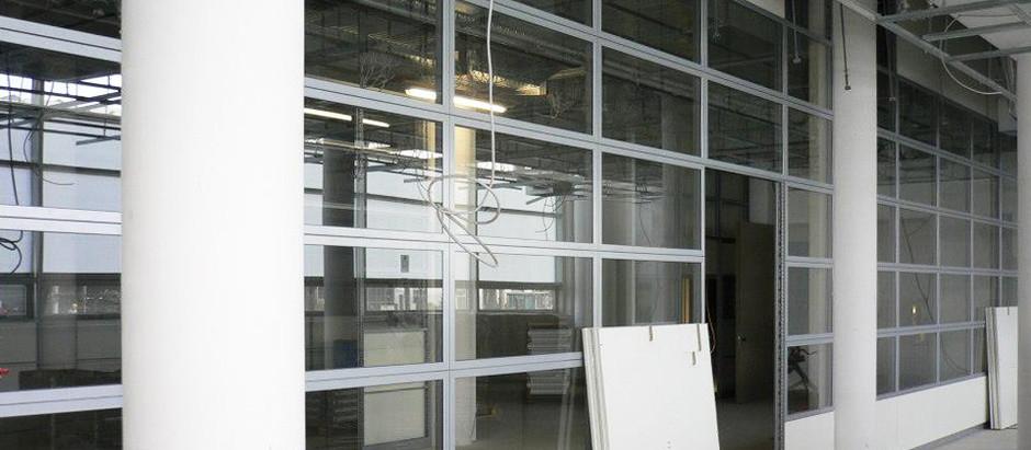 BMW · Pfosten-Riegel-Konstruktion · Trennwandsystem