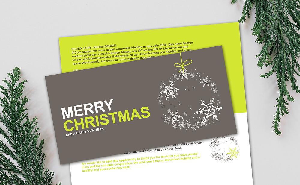 IPCom's Christmas card