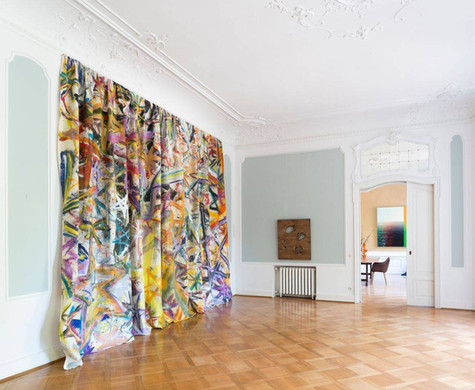 "Bernhard Adams, ""Spacetime Fabric"", 2018 (left); Richard Nikl, ""Assistant"", 2017 (middle); Raphael Brunk, ""Offshore"", 2016 (right)"