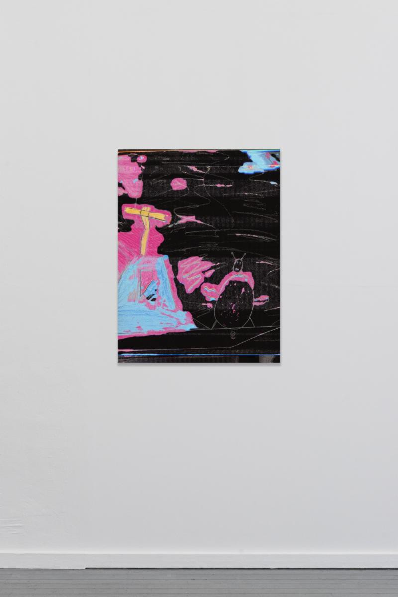 Raphael Brunk, TYT_02, 2018 – Inkjet on canvas – 90 x 67 cm – Edition of 50