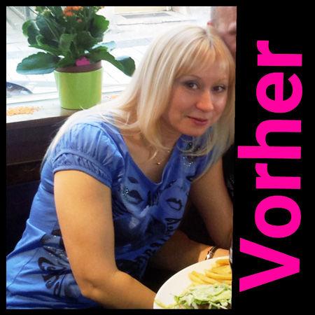 Galyna vorher | Schlank & fit | Sie wollen mehr ... noch mehr Pfunde verlieren? Das bietet Ihnen das Figur-Konzept easybalance (deutsch) & easyvital.ru (russisch)