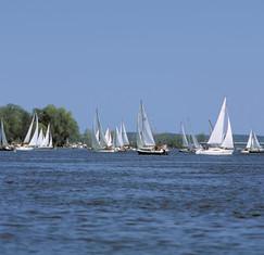 Segelboote Havel