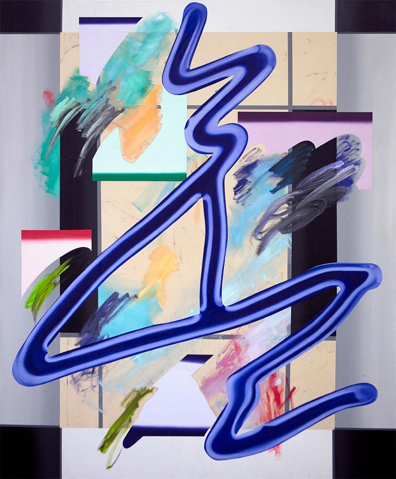 Anna Nero, Nightlife, 180x150 cm, 2017