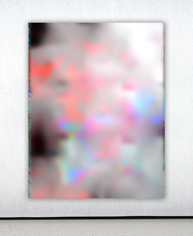 Raphael Brunk, #c1acb4, 2020 UV-Print on Alucore, 180 x 120 cm 1/1 + 1 Artist Print 8.000 EUR incl. VAT
