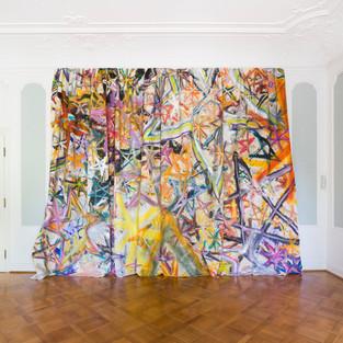 Traveling 4D - Spacetimefabric, 2018_Bernhard Adams_RPR ART