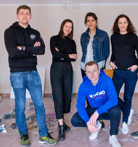 Bernhard Adams, Carolin Israel, Amparo Sard, Dr. Ruth Polleit Riechert, Raphael Brunk (from left to right)