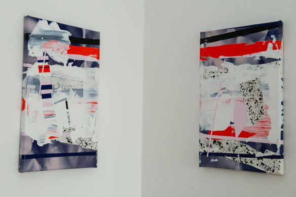Diptych by Michal Raz