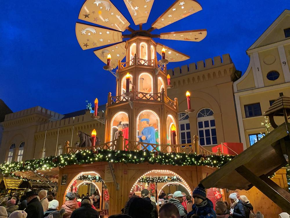 Eröffnung des Weihnachtsmarktes in Schwerin am 26.11.2018 um 16:30 Uhr