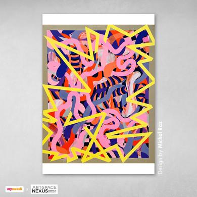 mymuesli x RPR ART: Kunst von Michal Raz und Bernhard Adams