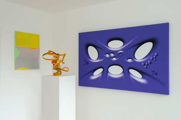 Works by Filip Gudovic, Peter Müller, Richard Nikl (from left to right)