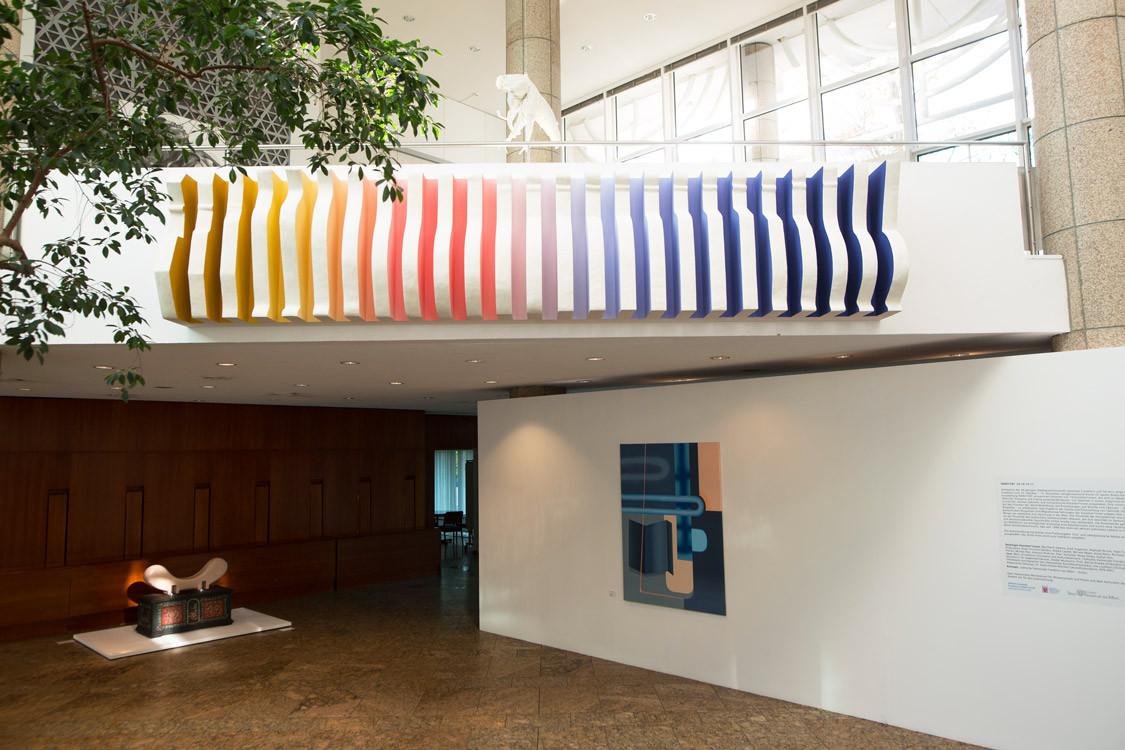 2nd Art Price of the Jewish Community: Olga Grigorjewa, Auf kleinem Raum zwischen Drinnen und Draußen, 2020 – Photo: David Bachar