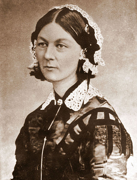 Florence Nightingale Wikimedia Commons CDV by H Lenthall