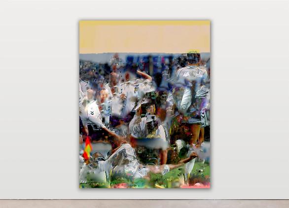 RPR ART, Raphael Brunk, #837c6e, 2020, 180x140cm