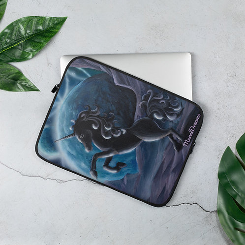 """Black Unicorn"" Laptop Sleeve"