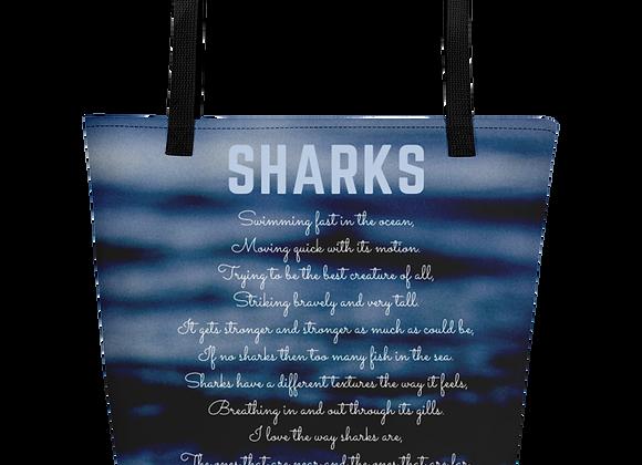 """""""Sharks"""" Beach Bag"""
