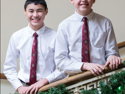 CHOIR BOYS: Milton sopranos to sing solos with Holiday Pops