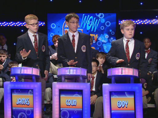 SPCS students compete on CatholicTV's wow Program