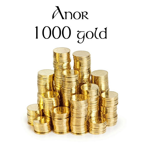Anor 1000 gold