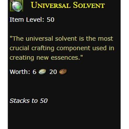 50x Universal Solvents  - US servers