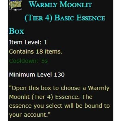 10x Warmly Moonlit (Tier 4) Basic Essence Box  - EU servers