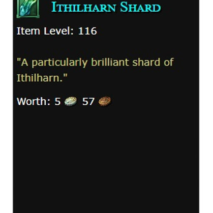 10x Ithilharn Shards  - US servers