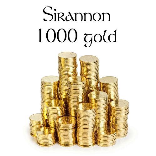 Sirannon 1000 gold