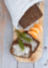 Linbakst brød