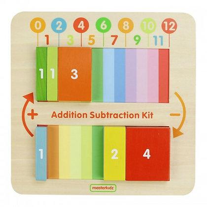 Addition Subtraction Learning Board (Masterkidz MK00583)