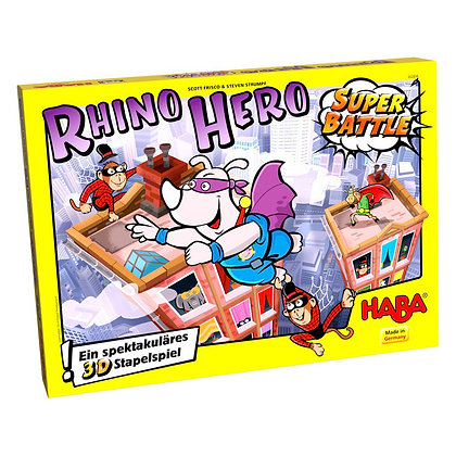 Rhino Hero - Super Battle (Haba 302808) 5yrs+