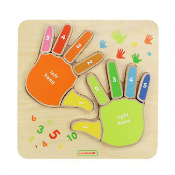 Fingers Counting Board (Masterkidz MK01733) 3yrs+