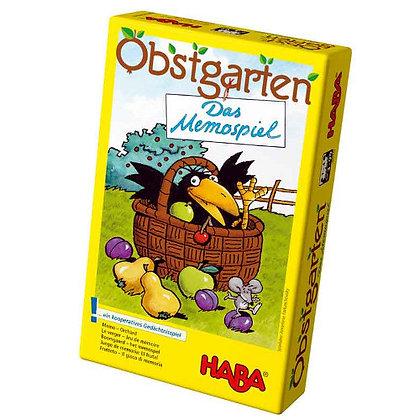 Orchard Memory Game (Haba 4610) 3yrs+