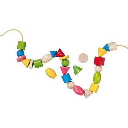 Threading Beads 72 pieces (Haba2155) 3yrs+