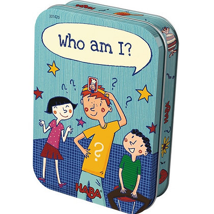 Who am I? Tin Game (Haba 301323) 5yrs+
