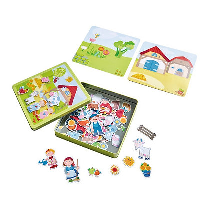 Magnetic game Peter and Pauline's Farm Haba 301951 3yrs+