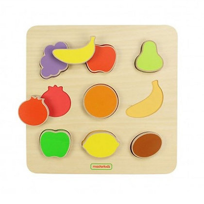 Fruit Shape Sorting Board (Masterkidz MK00620) 2yrs+