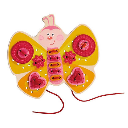 Threading Game Butterfly (Haba 301124) 3yrs+
