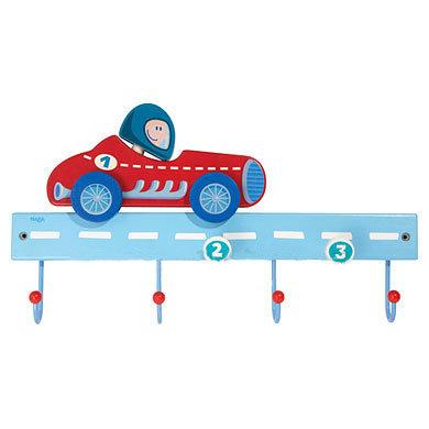 Racing Car - Hooks & Coat Rack (Haba 8195)