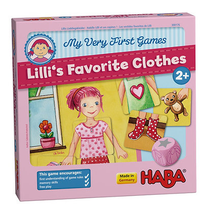 Lilli's Favourite Clothes (Haba 300176) 2yrs+