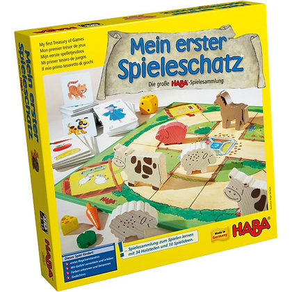 My First Treasury of Games (Haba 4278) 3-12yrs