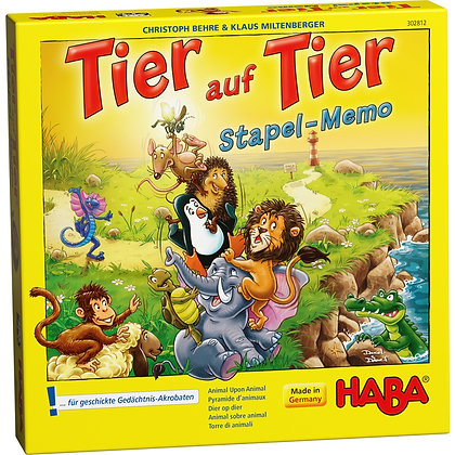 Animal upon Animal - Stacking Memory (Haba 303169) 5yrs+