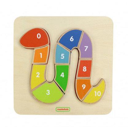 Numbering Snake Puzzle Board (MasterkidzMK00712) 2yrs+