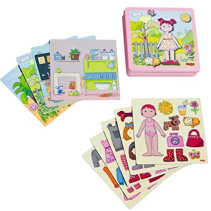 Dress-up Doll Lilli Magnetic Game (Haba 7392)