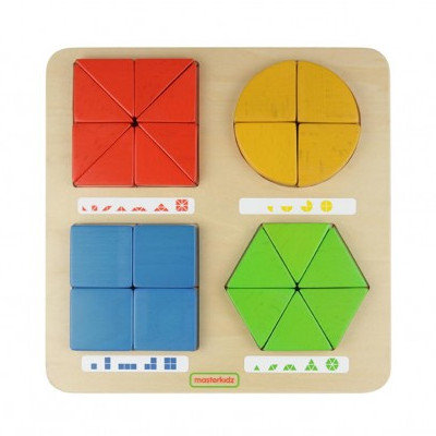 Geometric Shapes Building Fun (Masterkidz MK08763) 2yrs+